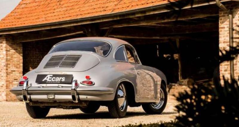 Porsche 356 B T6 COUPE - MANUAL - RED LEATHER SEATS - TOP Gris occasion à IZEGEM - photo n°4