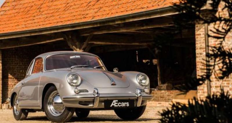 Porsche 356 B T6 COUPE - MANUAL - RED LEATHER SEATS - TOP Gris occasion à IZEGEM - photo n°5