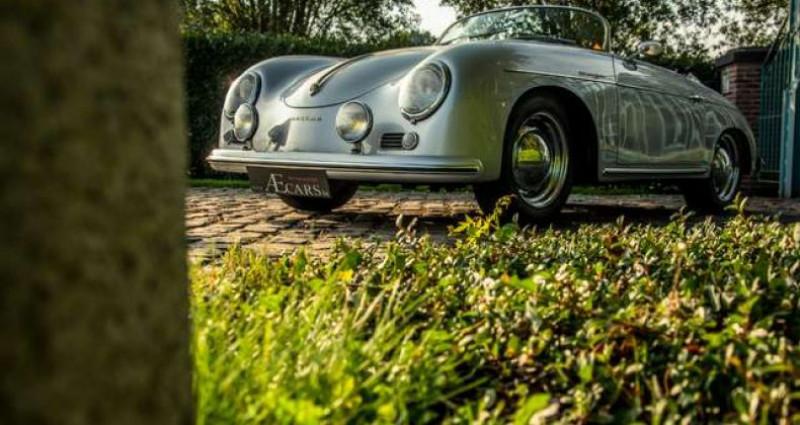 Porsche 356 SPEEDSTER - REPLICA - COLLECTORS ITEM Gris occasion à IZEGEM - photo n°3