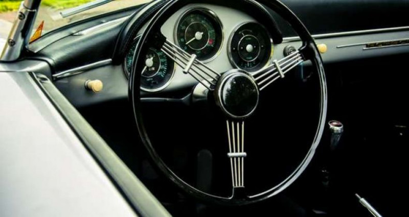 Porsche 356 SPEEDSTER - REPLICA - COLLECTORS ITEM Gris occasion à IZEGEM - photo n°7