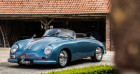 Porsche 356 SPEEDSTER - REPLICA - TOP CONDITION Bleu à IZEGEM 88