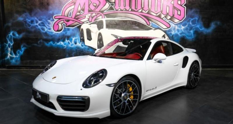 Porsche 911 Type 991 (991) (2) 3.8 580 TURBO S Blanc occasion à CANNES