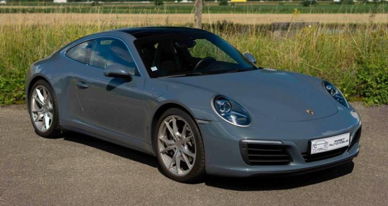 Porsche 911 Type 991 (991) 3.0 370CH 4 PDK Bleu occasion à VENDENHEIM - photo n°3