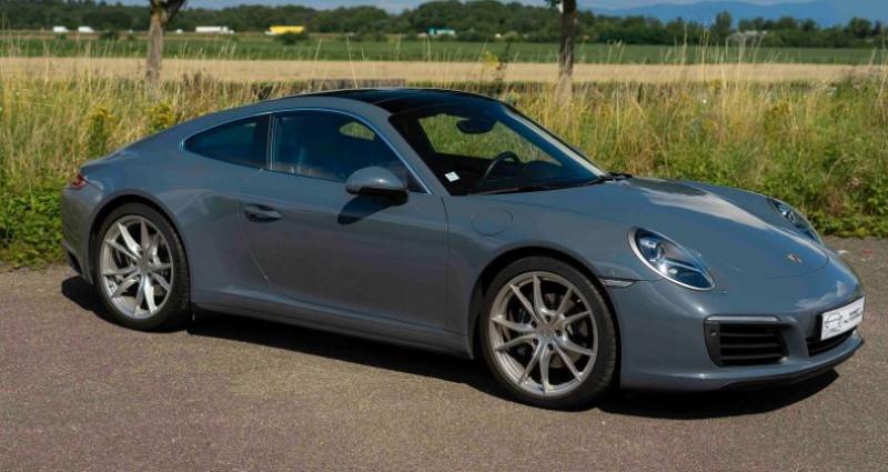 Porsche 911 Type 991 (991) 3.0 370CH 4 PDK Bleu occasion à VENDENHEIM - photo n°2