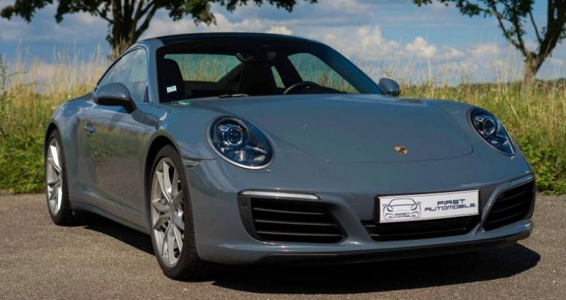 Porsche 911 Type 991 (991) 3.0 370CH 4 PDK Bleu occasion à VENDENHEIM - photo n°4