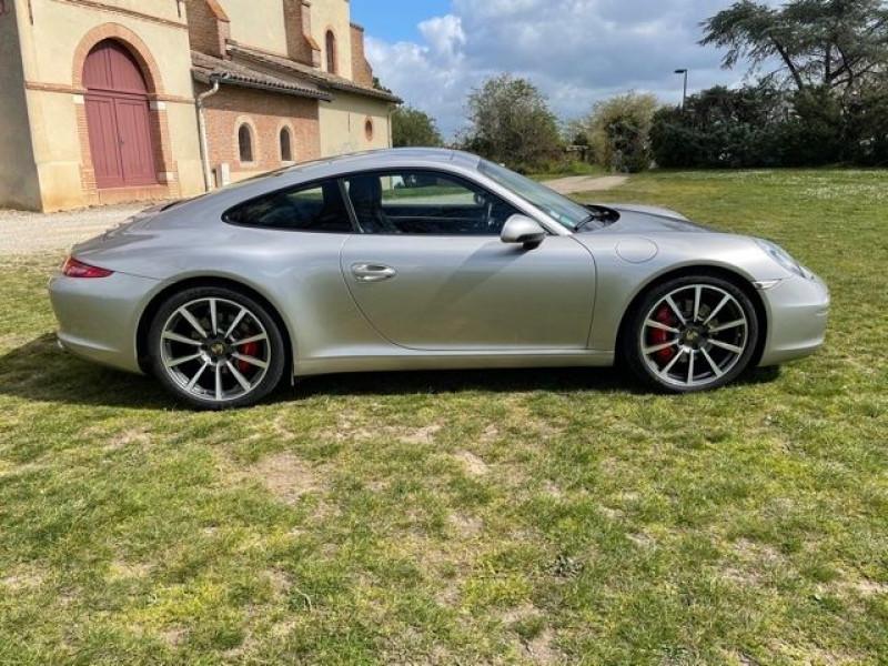 Porsche 911 Type 991 (991) 3.8 400 CARRERA S PDK Gris occasion à Vacquiers - photo n°5