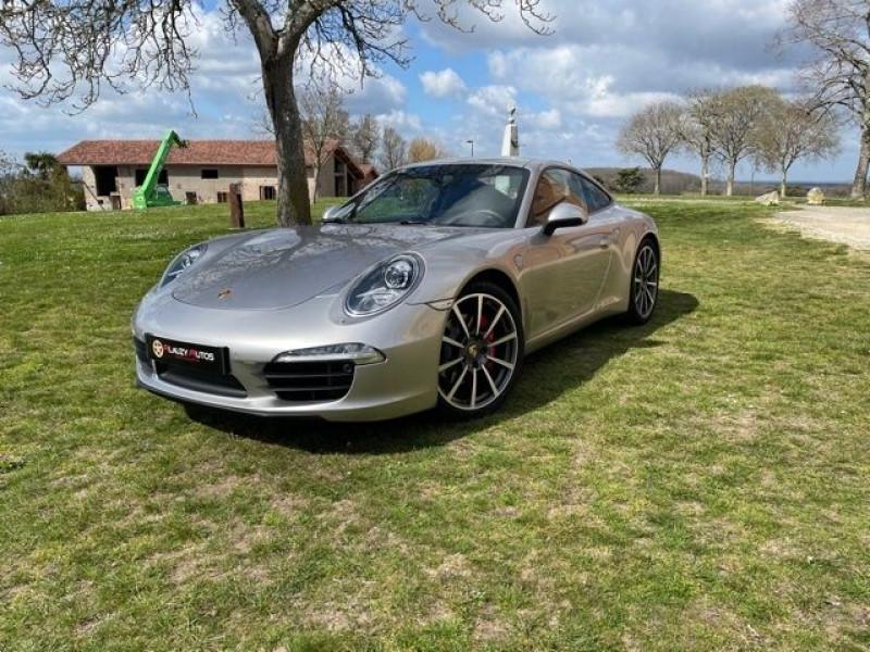 Porsche 911 Type 991 (991) 3.8 400 CARRERA S PDK Gris occasion à Vacquiers - photo n°2