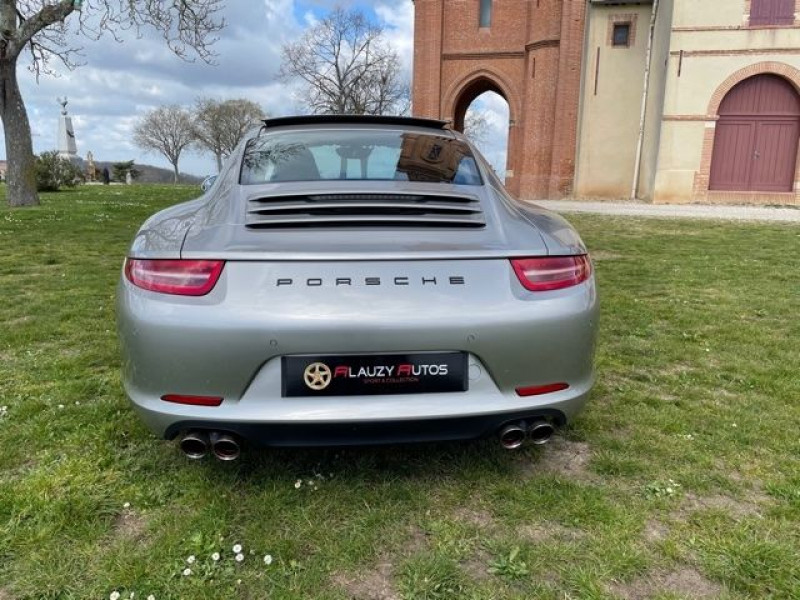 Porsche 911 Type 991 (991) 3.8 400 CARRERA S PDK Gris occasion à Vacquiers - photo n°8