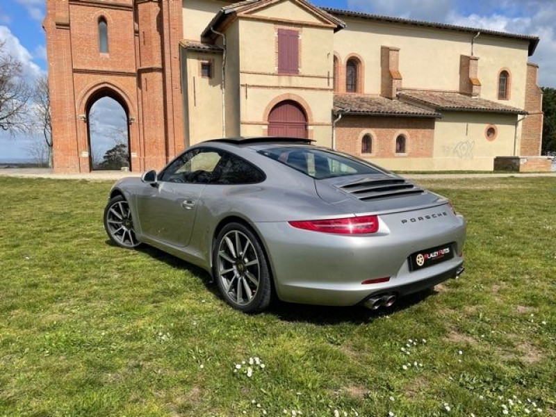 Porsche 911 Type 991 (991) 3.8 400 CARRERA S PDK Gris occasion à Vacquiers - photo n°6