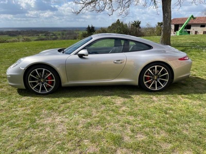 Porsche 911 Type 991 (991) 3.8 400 CARRERA S PDK Gris occasion à Vacquiers - photo n°4