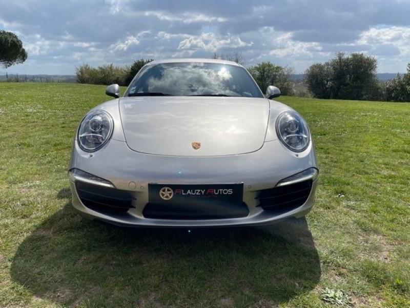 Porsche 911 Type 991 (991) 3.8 400 CARRERA S PDK Gris occasion à Vacquiers - photo n°3