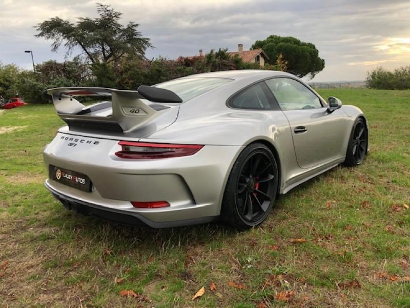 Porsche 911 Type 991 (991) 4.0 500 GT3 CLUB SPORT Argent occasion à Vacquiers - photo n°7