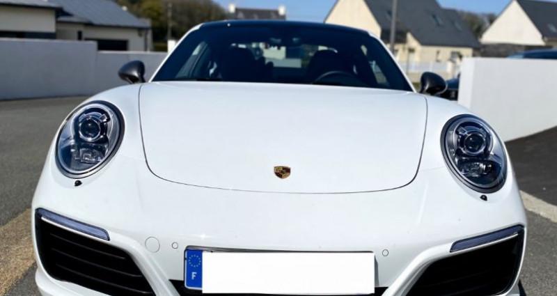 Porsche 911 Type 991 (991) Carrera T 3.0 370 Ch PDK 4 Places Blanc occasion à SAINT LAURENT DU VAR - photo n°4