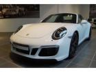 Porsche 911 Type 991 3.0 Targa 4 GTS PDK Blanc à BEAUPUY 31
