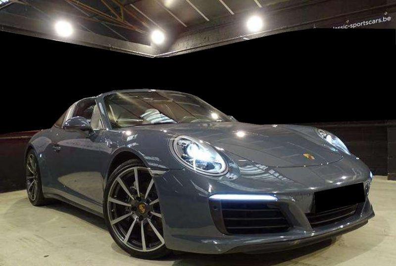 Porsche 911 Type 991 3.0 Targa 4 PDK Gris occasion à BEAUPUY - photo n°8