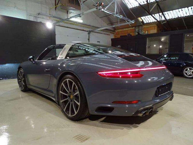Porsche 911 Type 991 3.0 Targa 4 PDK Gris occasion à BEAUPUY - photo n°3