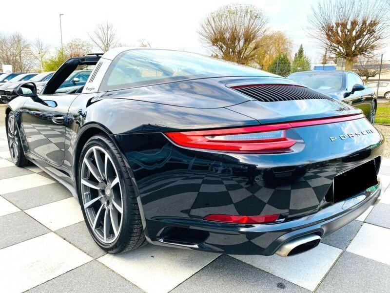 Porsche 911 Type 991 3.0 Targa 4 PDK Noir occasion à BEAUPUY - photo n°3