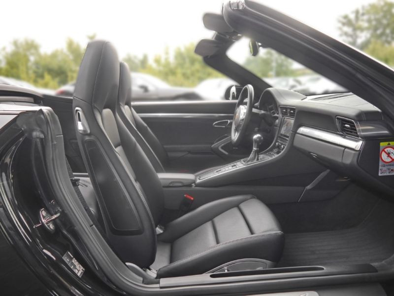 Porsche 911 Type 991 3.4 Carrera 4 Cabriolet Noir occasion à BEAUPUY - photo n°4