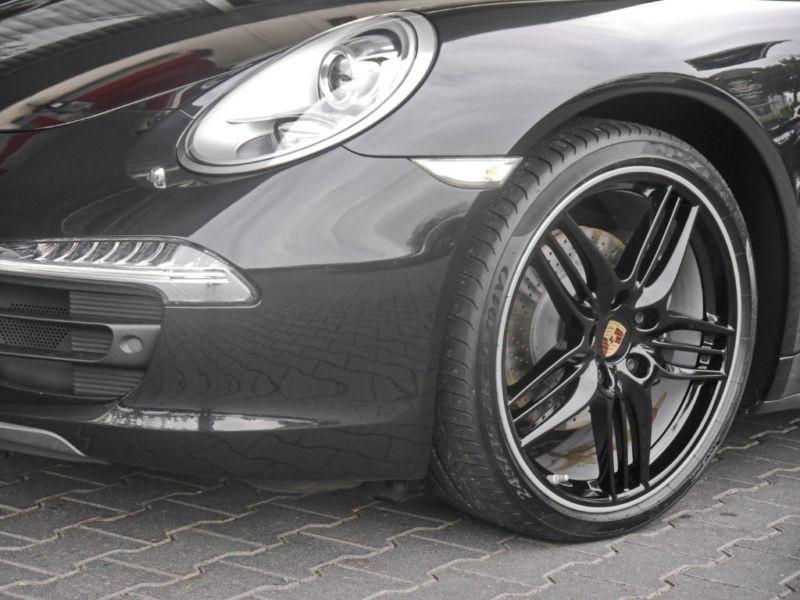 Porsche 911 Type 991 3.4 Carrera 4 Cabriolet Noir occasion à BEAUPUY - photo n°9