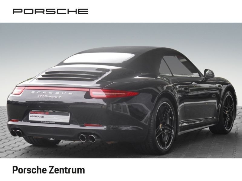 Porsche 911 Type 991 3.4 Carrera 4 Cabriolet Noir occasion à BEAUPUY - photo n°8