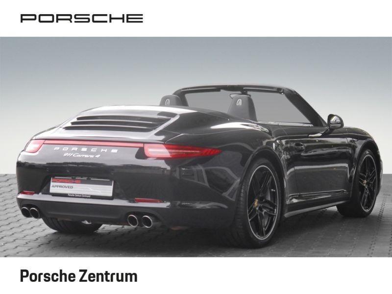 Porsche 911 Type 991 3.4 Carrera 4 Cabriolet Noir occasion à BEAUPUY - photo n°3