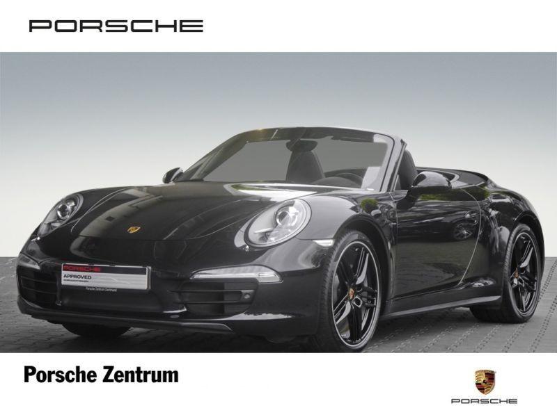 Porsche 911 Type 991 3.4 Carrera 4 Cabriolet Noir occasion à BEAUPUY