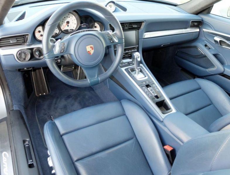 Porsche 911 Type 991 3.4 Carrera PDK Argent occasion à BEAUPUY - photo n°2
