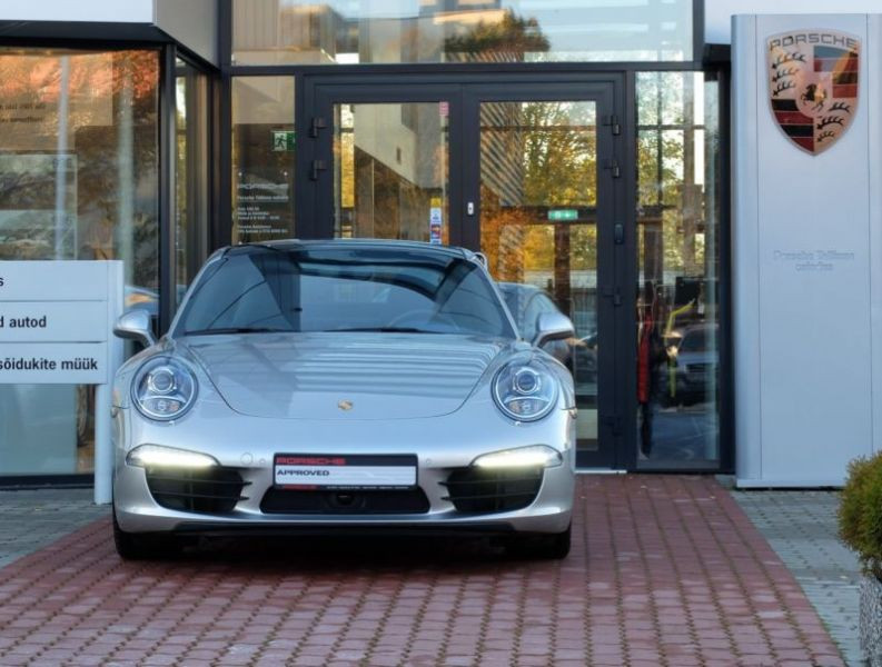 Porsche 911 Type 991 3.4 Carrera PDK Argent occasion à BEAUPUY - photo n°9