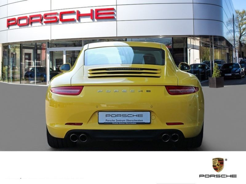Porsche 911 Type 991 3.4 Carrera Jaune occasion à BEAUPUY - photo n°8