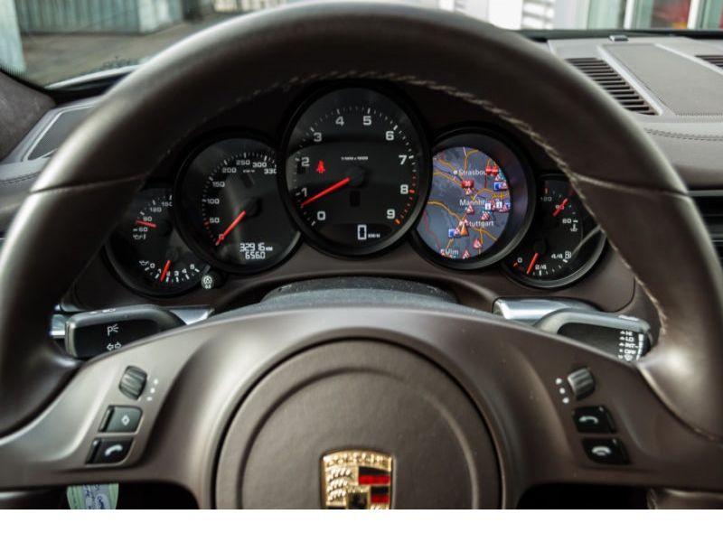 Porsche 911 Type 991 3.4 Carrera Marron occasion à BEAUPUY - photo n°2