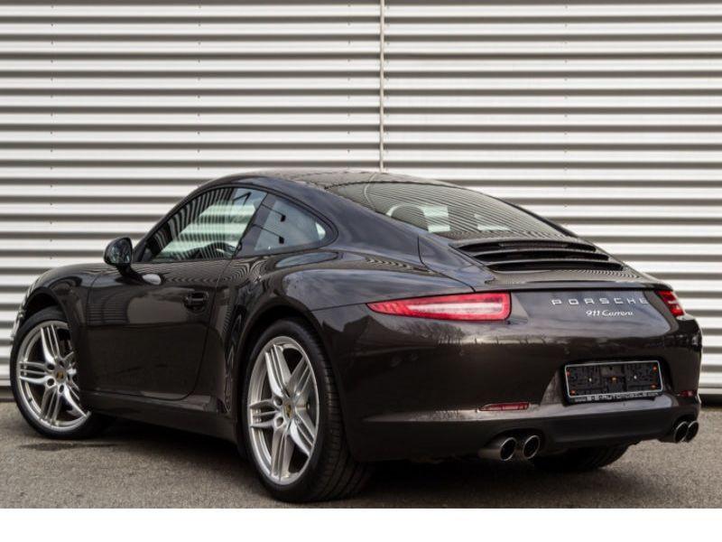 Porsche 911 Type 991 3.4 Carrera Marron occasion à BEAUPUY - photo n°3
