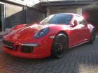 Porsche 911 Type 991 3.8 Carrera 4 GTS PDK Cabriolet Rouge à BEAUPUY 31