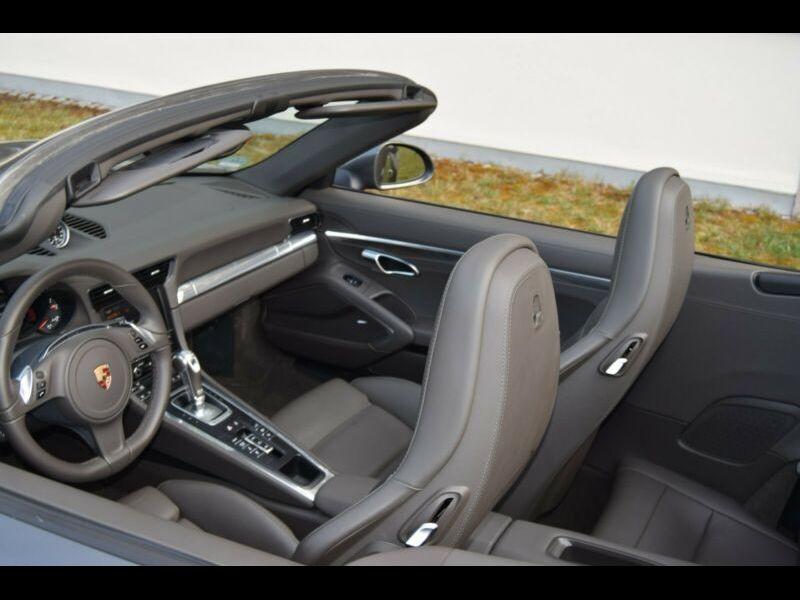 Porsche 911 Type 991 3.8 Carrera 4S Cabriolet Gris occasion à BEAUPUY - photo n°5