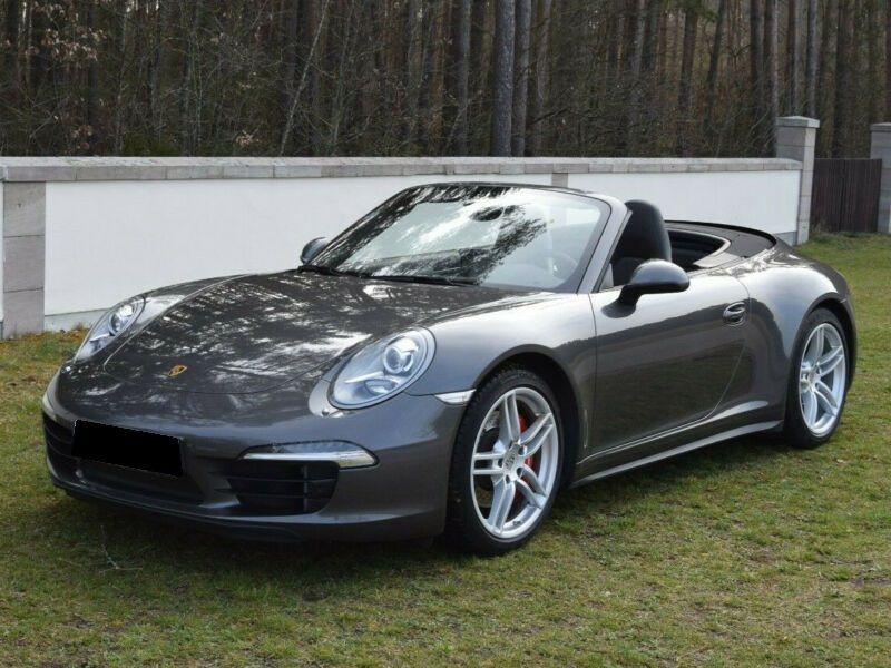 Porsche 911 Type 991 3.8 Carrera 4S Cabriolet Gris occasion à BEAUPUY
