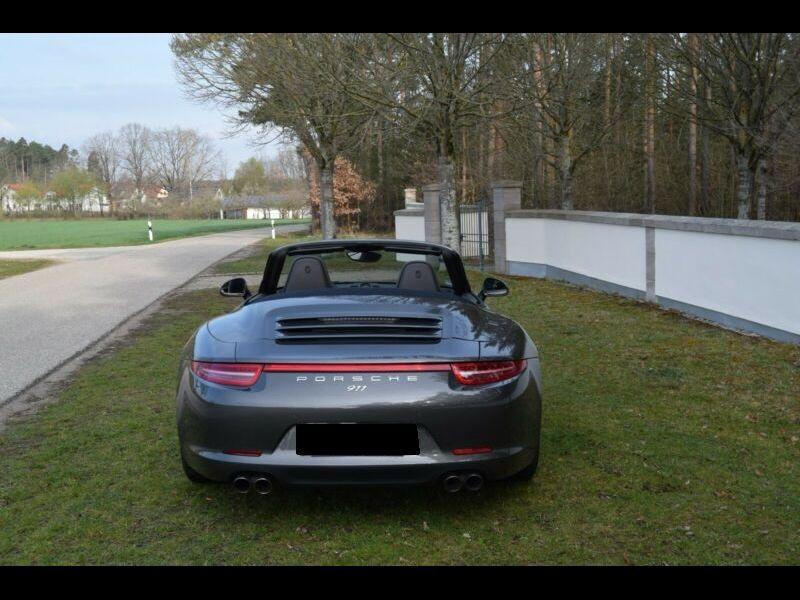 Porsche 911 Type 991 3.8 Carrera 4S Cabriolet Gris occasion à BEAUPUY - photo n°9