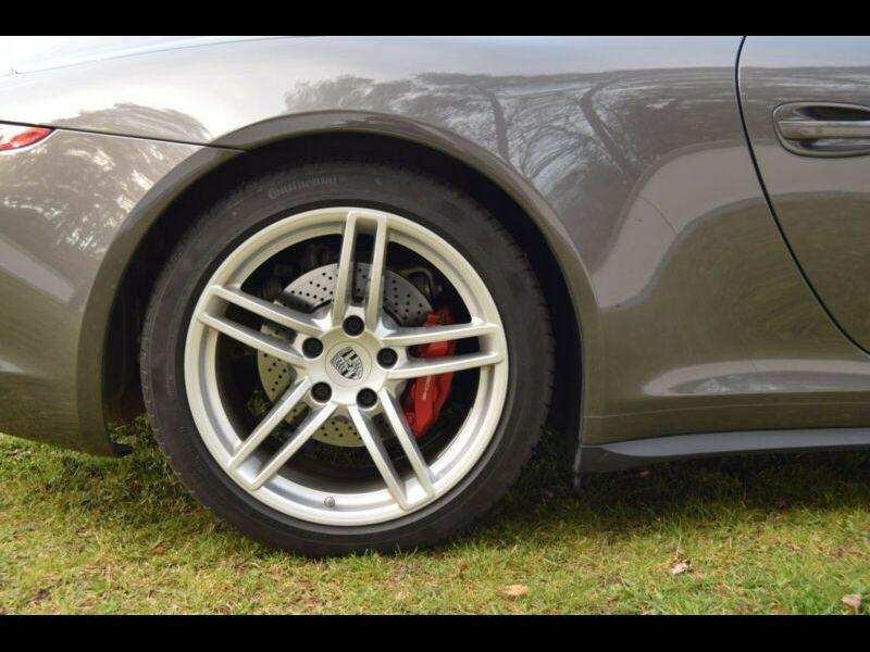 Porsche 911 Type 991 3.8 Carrera 4S Cabriolet Gris occasion à BEAUPUY - photo n°7