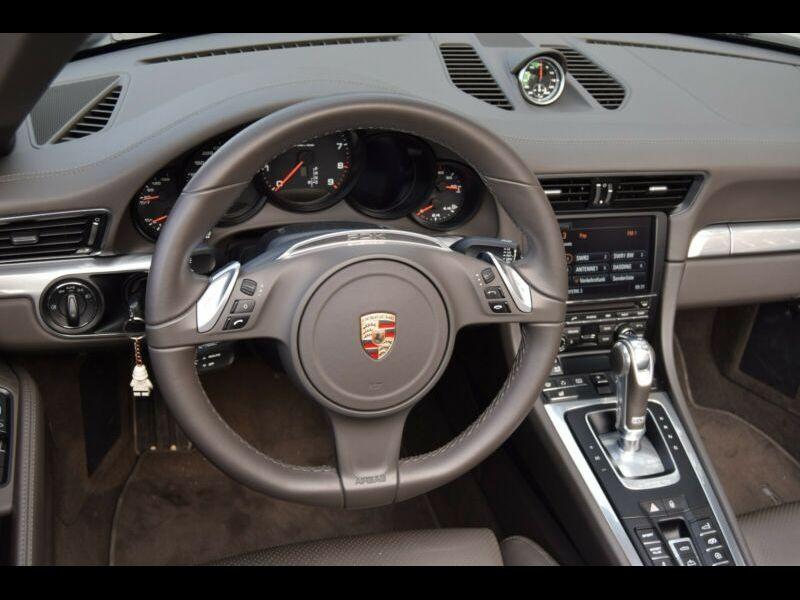 Porsche 911 Type 991 3.8 Carrera 4S Cabriolet Gris occasion à BEAUPUY - photo n°2