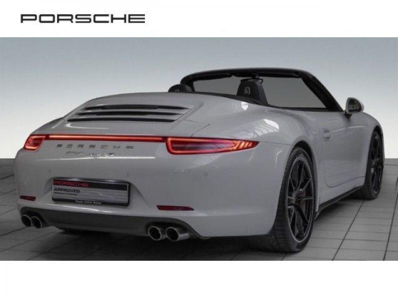 Porsche 911 Type 991 3.8 Carrera 4S PDK Cabriolet Blanc occasion à BEAUPUY - photo n°3