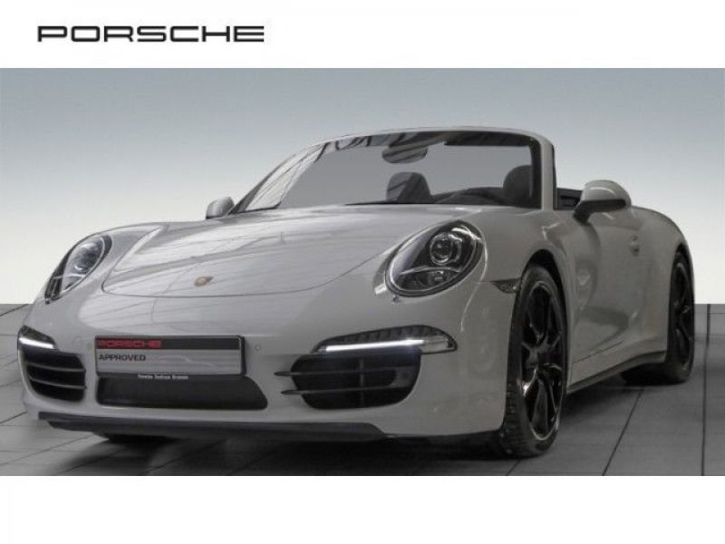 Porsche 911 Type 991 3.8 Carrera 4S PDK Cabriolet Blanc occasion à BEAUPUY