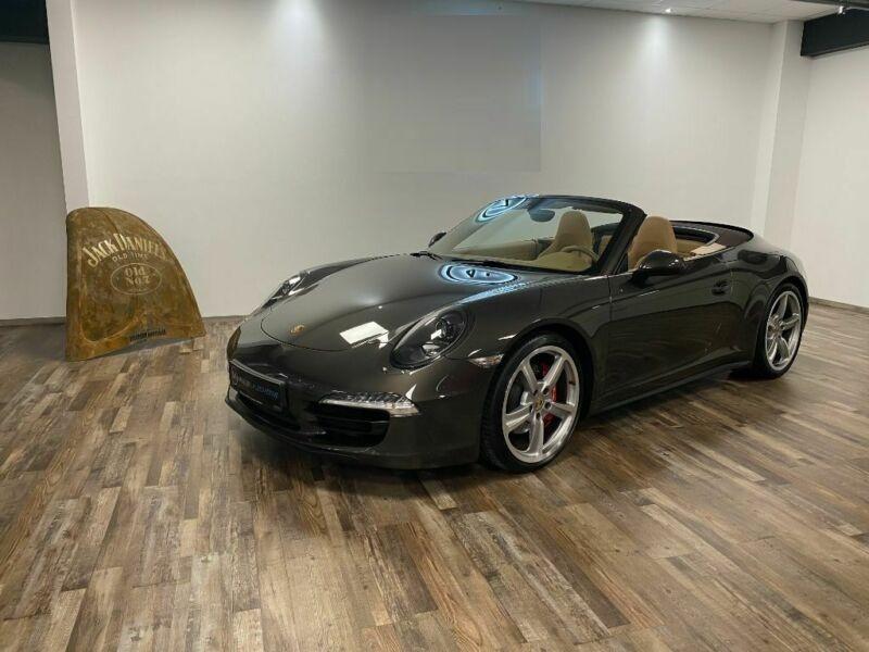 Porsche 911 Type 991 3.8 Carrera 4S PDK Cabriolet Gris occasion à BEAUPUY - photo n°8