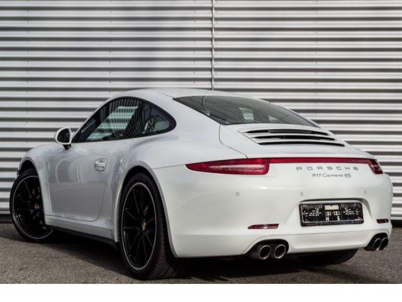 Porsche 911 Type 991 3.8 Carrera 4S PDK Blanc occasion à BEAUPUY - photo n°3