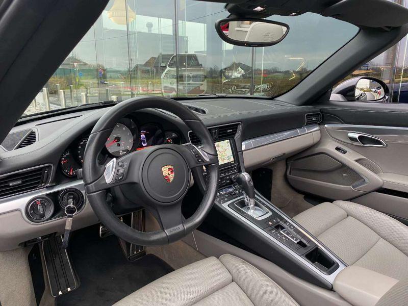 Porsche 911 Type 991 3.8 Carrera S PDK Cabriolet Noir occasion à BEAUPUY - photo n°2