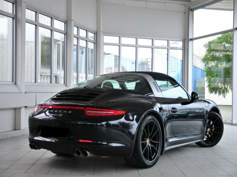 Porsche 911 Type 991 3.8 Targa 4S PDK Noir occasion à BEAUPUY - photo n°3