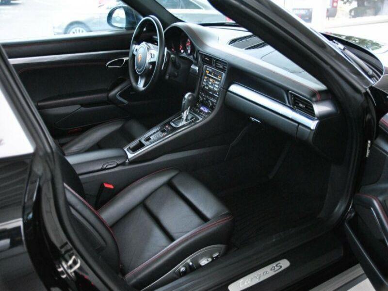 Porsche 911 Type 991 3.8 Targa 4S PDK Noir occasion à BEAUPUY - photo n°7