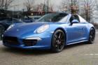 Porsche 911 Type 991 3.8 Targa 4S PDK Bleu à BEAUPUY 31