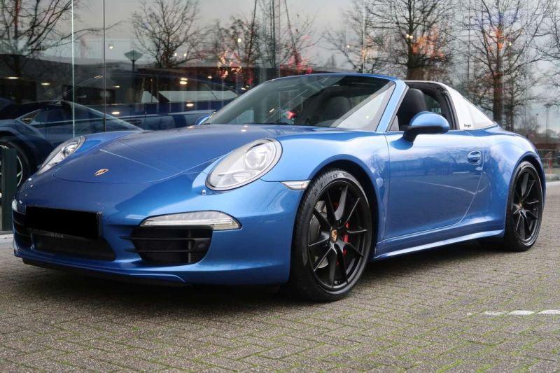 Porsche 911 Type 991 3.8 Targa 4S PDK Bleu occasion à BEAUPUY