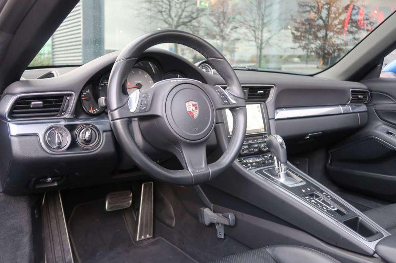 Porsche 911 Type 991 3.8 Targa 4S PDK Bleu occasion à BEAUPUY - photo n°2