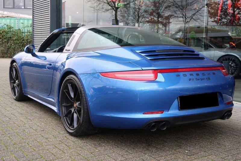 Porsche 911 Type 991 3.8 Targa 4S PDK Bleu occasion à BEAUPUY - photo n°3