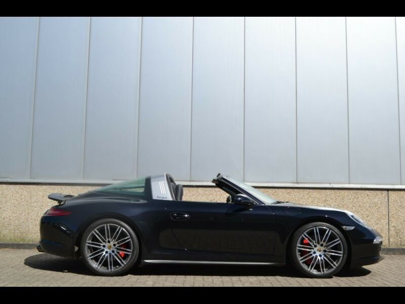 Porsche 911 Type 991 3.8 Targa 4S PDK Noir occasion à BEAUPUY - photo n°9