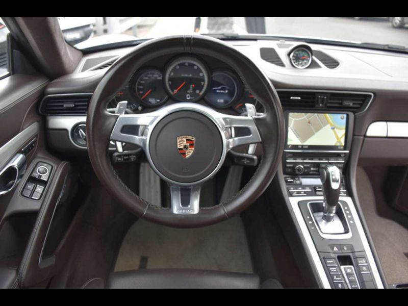 Porsche 911 Type 991 3.8 Turbo S PDK Gris occasion à BEAUPUY - photo n°2